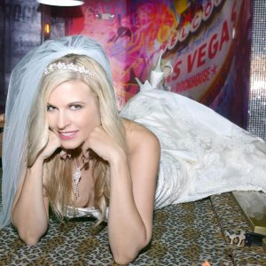 Another happy bride with hair and makeup by Nicia forhellip